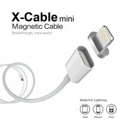 WSKEN Magnetic X-cable Cable for Apple Lightning devices (silver) 2