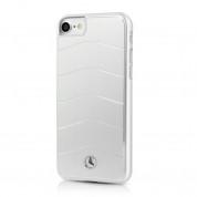 Mercedes-Benz Aluminium Hard Case - дизайнерски алуминиев кейс за iPhone 8, iPhone 7 (сребрист)