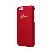 Guess Scarlett Hard Case - дизайнерски хибриден кейс за iPhone 8, iPhone 7 (червен)