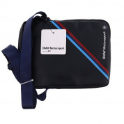 BMW Tablet Bag Tricolor Stripe - дизанйерска чанта с презрамка таблети до 8 инча (син) 2