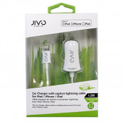 Jivo MFI Lightning 2.1A Car Charger  for iPhone, iPad and devices with Lightning port 1