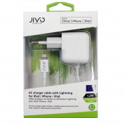 Jivo 2.1A Lightning Wall Charger for iPhone, iPad and devices with Lightning port 1