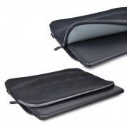 Targus Debossed Neoprene Laptop Sleeve - неопренов калъф за MacBook Pro Retina 15 и лаптопи до 15.6 инча (черен) 3
