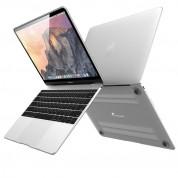 Devia Grace Shell Case - поликарбонатов предпазен кейс за MacBook 12 (матиран)