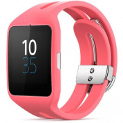 Sony Smartwatch 3 SWR50 - NFC bluetooth тъч часовник за Android смартфони (розов)