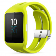 Sony Smartwatch 3 SWR50 Sport - NFC bluetooth тъч часовник за Android смартфони (жълт)