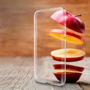 Spigen Liquid Crystal Case - тънък качествен термополиуретанов кейс за iPhone SE (2020), iPhone 8, iPhone 7 (прозрачен) 15