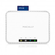 Macally WiFiSD2 Wi-Fi media hub and battery (white) 1