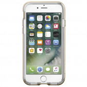 Spigen Neo Hybrid Case Crystal - хибриден кейс с висока степен на защита за iPhone 8, iPhone 7 (прозрачен-златист) 10