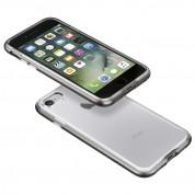 Spigen Neo Hybrid Case Crystal - хибриден кейс с висока степен на защита за iPhone 8, iPhone 7 (прозрачен-сив) 12