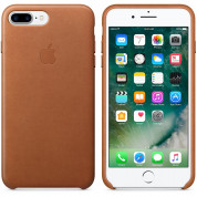 Apple iPhone Leather Case for iPhone 8 Plus, iPhone 7 Plus (saddle brown) 5