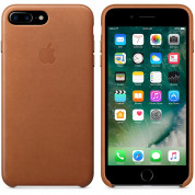 Apple iPhone Leather Case for iPhone 8 Plus, iPhone 7 Plus (saddle brown) 3