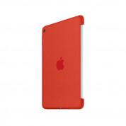 Apple Silicone Case - оригинален силиконов кейс за iPad mini 4 (оранжев) 4