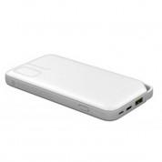 Huawei Quick Charge Power Bank AP08Q 10000 mAh - външна батерия с USB-C и MircoUSB входове и USB изход за смартфони и таблети (бял)