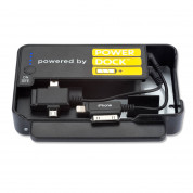 Power Dock with 12 Power Banks - док станция с 12 батерии/гнезда и кабели за зареждане (31200mAh) за мобилни устройства 1
