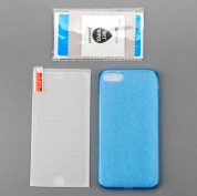4smarts 360° Protection Set for iPhone 8, iPhone 7 (blue) 6