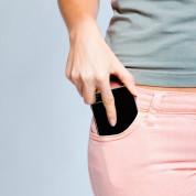 Spigen Thin Fit Case - качествен тънък матиран кейс за iPhone 8 Plus, iPhone 7 Plus (черен гланц) 2