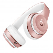 Beats Solo 3 Wireless On-Ear Headphones - професионални безжични слушалки с микрофон и управление на звука за iPhone, iPod и iPad (розово злато) 5