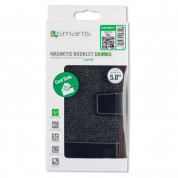 4smarts Ultimag Wallet Milano Case for smartphones up to 5.8 in. (black) 2