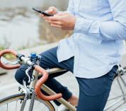 Quad Lock Bike Kit - уникална поставка с кейс и водоустойчив кейс за велосипед за iPhone 8 Plus, iPhone 7 Plus 11