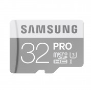 Samsung MicroSDHC Pro 32GB UHS-1 class 10 up to 90 MBs with SD Adapter (GoPro compatible) 1