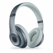 Beats by Dre Studio Wireless - професионални безжични слушалки с микрофон и управление на звука за iPhone, iPod и iPad (небесносин-лъскав) 1