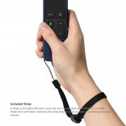 Elago R1 Intelli Case - удароустойчив силиконов калъф за Apple TV Siri Remote (индиго) 5