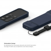 Elago R1 Intelli Case for Apple TV Siri Remote (jin indigo)  3