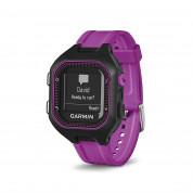 Garmin Forerunner 25 - умен часовник за бягане с GPS и смарт известия (черен-лилав) 1