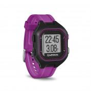 Garmin Forerunner 25 - умен часовник за бягане с GPS и смарт известия (черен-лилав) 3