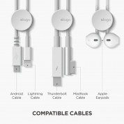 Elago Cable Management Button 7 units (white) 8