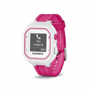 Garmin Forerunner 25 Easy-to-use GPS Running Watch with Smart Notifications (white-pink) 5