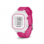 Garmin Forerunner 25 Easy-to-use GPS Running Watch with Smart Notifications (white-pink) 3