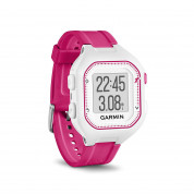 Garmin Forerunner 25 Easy-to-use GPS Running Watch with Smart Notifications (white-pink) 2