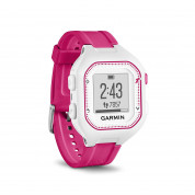 Garmin Forerunner 25 Easy-to-use GPS Running Watch with Smart Notifications (white-pink) 1