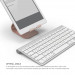 Elago P2 Stand - дизайнерска алуминиева поставка за iPad и таблети (розово злато) 4