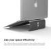 Elago L3 STAND - дизайнерска поставка за MacBook, преносими компютри и таблети (тъмносив) 1