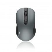TeckNet M001 Black 2.4G Mini Wireless Mouse - ергономична безжична мишка (за Mac и PC) (сива)
