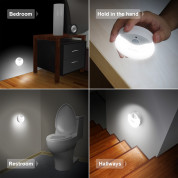 TeckNet LED09 3-Pack Motion Sensor LED Night Light 5