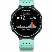 Garmin Forerunner 235 - GPS Running Watch with Wrist-based Heart Rate (black-blue)