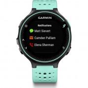 Garmin Forerunner 235 - GPS часовник за бягане с Garmin Elevate вграден пулсомер (черен-син) 1
