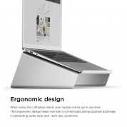 Еlago L4 Stand (Silver) for MacBook, Laptop Computer & tablet PC (silver) 1