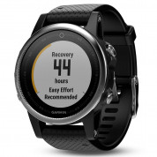 Garmin Fenix 5S - Multisport GPS Watch for Fitness, Adventure and Style (white with black band) 1