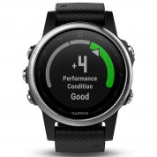 Garmin Fenix 5S - Multisport GPS Watch for Fitness, Adventure and Style (white with black band) 4