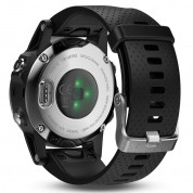 Garmin Fenix 5S - Multisport GPS Watch for Fitness, Adventure and Style (white with black band) 6