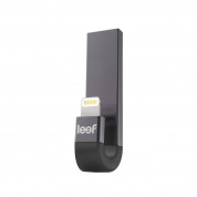 Leef iBRIDGE 3 Mobile Memory 32GB - външна памет за iPhone, iPad, iPod с Lightning (32GB) (сив)  2
