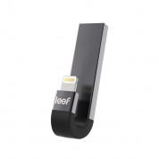Leef iBRIDGE 3 Mobile Memory 64GB - външна памет за iPhone, iPad, iPod с Lightning (64GB) (черен)