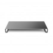 Satechi Aluminium Monitor Stand - настолна алуминиева поставка за монитори, MacBook и лаптопи (тъмносива) 1