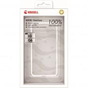 Krusell Bovik Cover - тънък термополиуретанов (TPU) калъф за LG G6 (прозрачен) 2