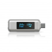 Satechi USB-C Power Meter - уред измерване на ампеража, волтаж и амперчасове за USB-C устройства 5